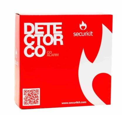 DETECTOR CO A PILAS SECURIKIT